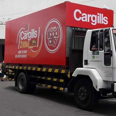 Shop safely with ease at the Cargills 2 Home mobile supermarket